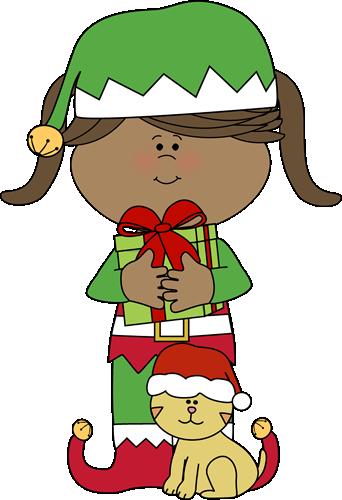clip art freeuse download Elf clipart clip art. Cute girl