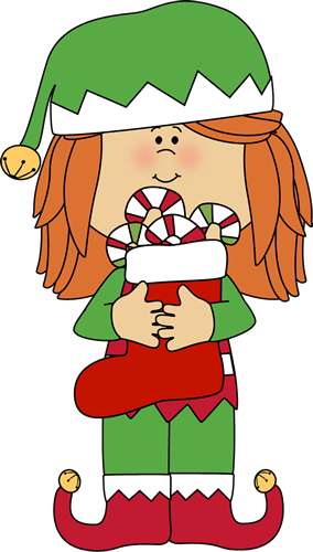 banner transparent library Grinch clipart outfit santa. Christmas girl elf clip
