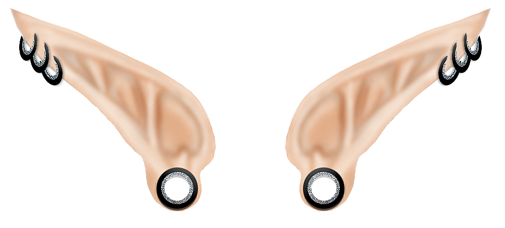 svg library stock Elf Ears PNG Transparent Elf Ears