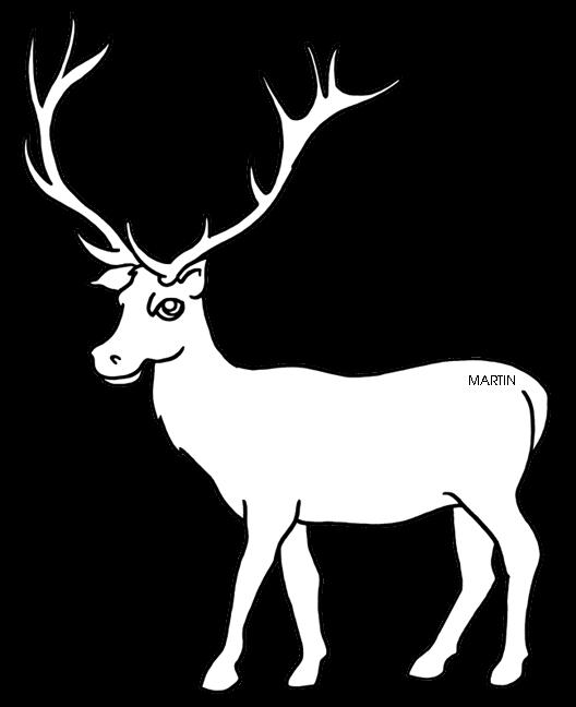 clip royalty free stock Clipartblack com animal free. Elk clipart.