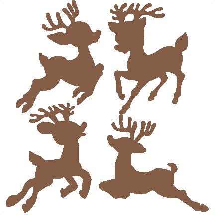 jpg free library Reindeer Silhouette Clip Art at GetDrawings