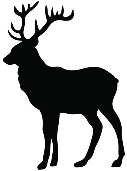 picture library download Stag Silhouette PNG Transparent Clip Art Image