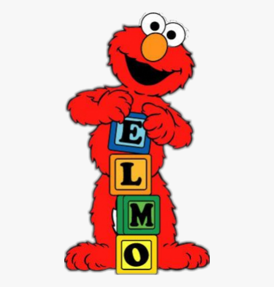 clip transparent download Elmo clipart. Sticker sesame street free