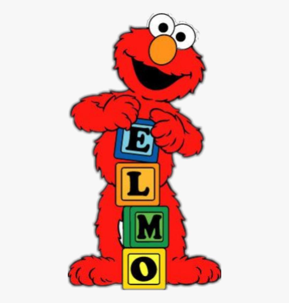 clip transparent download Elmo clipart. Sticker sesame street free.