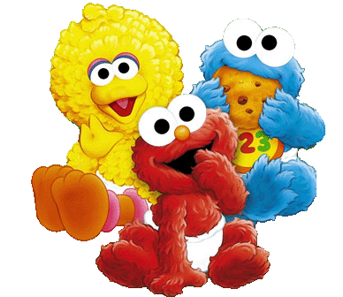 graphic royalty free Sesame street babies clipart
