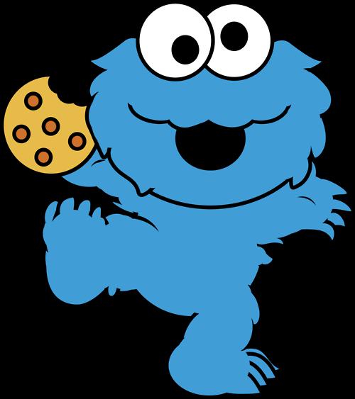 png freeuse library Elmo y cookie para colorear baby