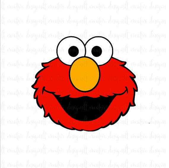 graphic library download Elmo Svg Elmo Sesame Street Svg Svg Files by