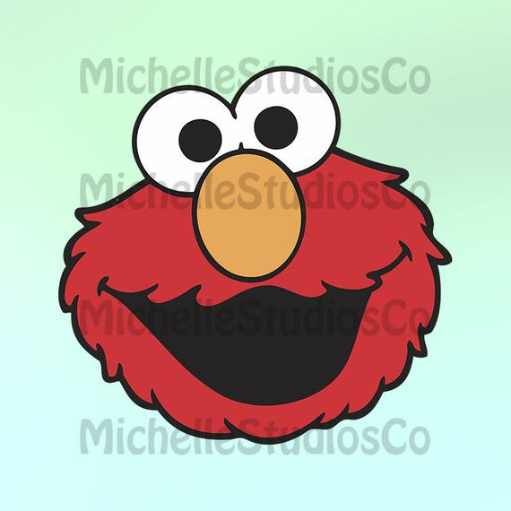 transparent library Elmo Svg