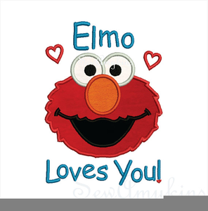 picture freeuse Elmo Face Clipart