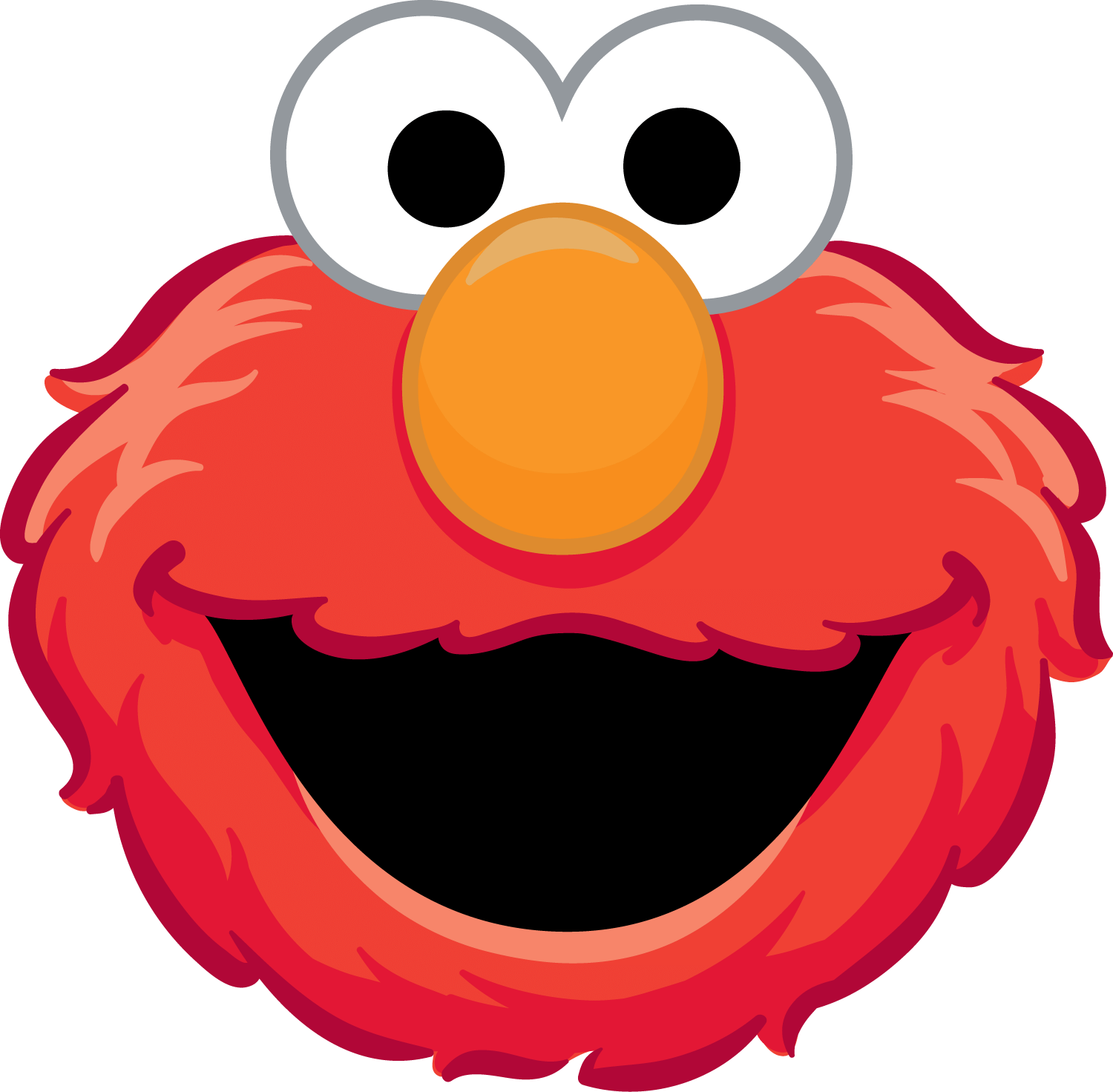 clip art freeuse library Elmo Number