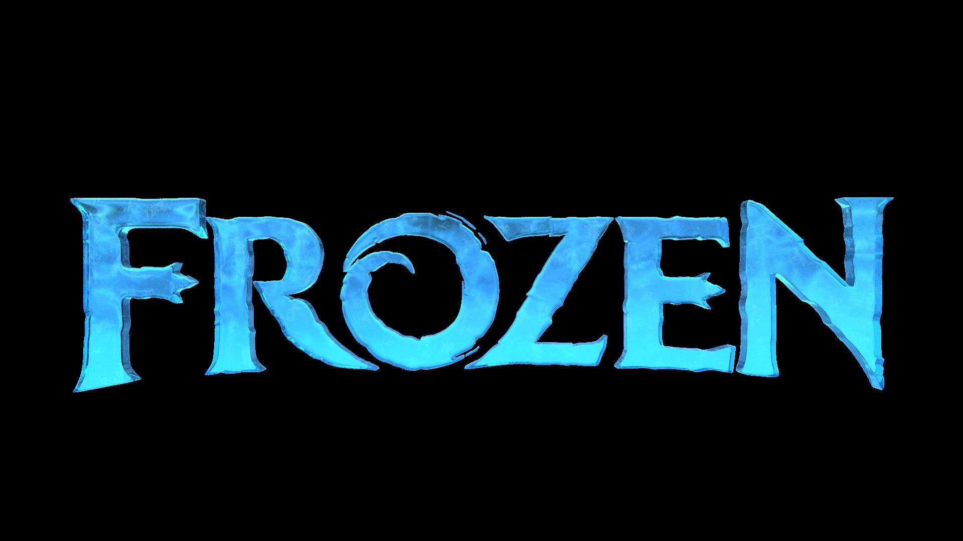 library Frozen logo recreation