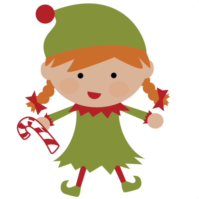 vector transparent stock Cute . Elves clipart.