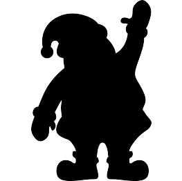 image Silhouette clipart. Free clip art christmas.
