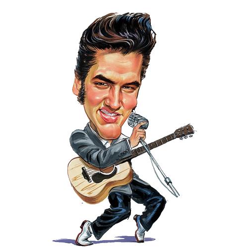 clip art transparent download Cartoon drawing at getdrawings. Elvis clipart.