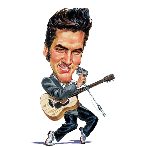 svg free library Elvis Pres Clipart