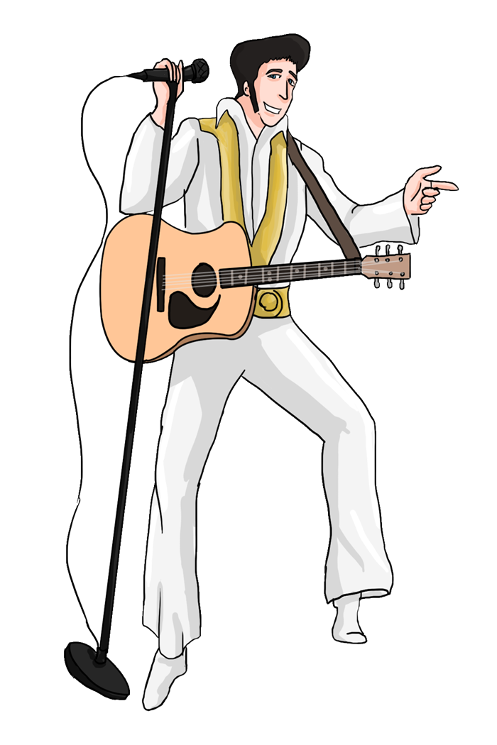 picture royalty free stock  collection of presley. Elvis clipart name