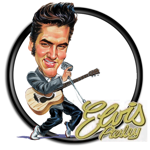 jpg black and white stock Elvis clipart name. Presley cones png pinterest