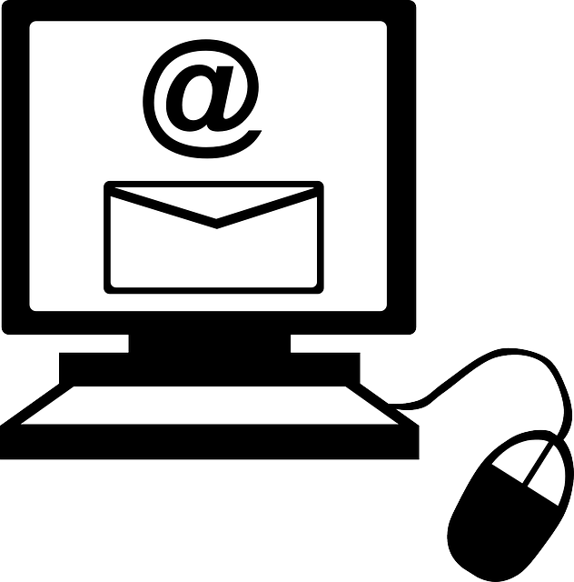 vector black and white library Email clipart. Mail black and white