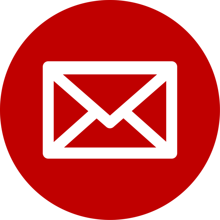 clipart black and white library Email transparent red. Address computer icons signature