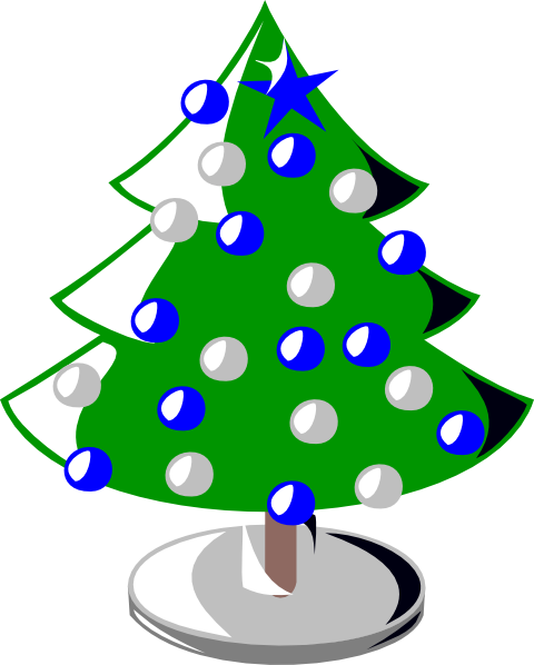 svg freeuse download Christmas Tree Clip Art at Clker