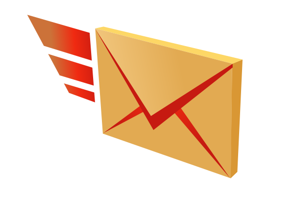banner stock Mail Clipart