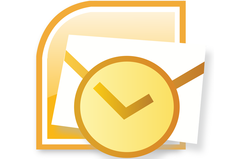svg black and white Email clipart outlook. Hrishi computer education microsoft