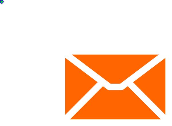 clip art library Orange Email Envelope Clip Art at Clker