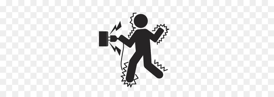 clip transparent stock Emergency clipart shock. Electricity logo illustration graphics.
