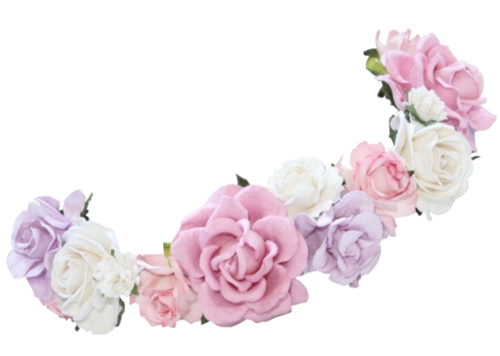 clipart black and white library Transparent 2ds flower crown. Google search my fandoms