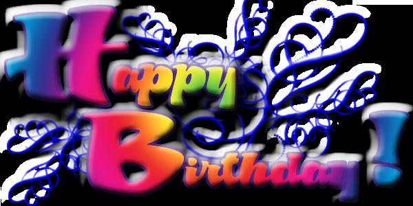 clipart black and white download Emo transparent happy bday. Birthday lcseminole the emotiva