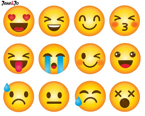 picture library library Emoji clipart.  clip art smiley