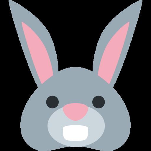 free download  twitter twemoji. Vector emojis bunny