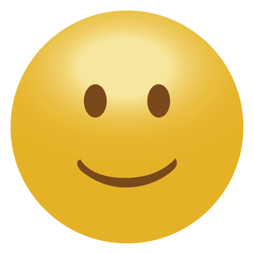 vector free stock  d smile emoticon. Vector emojis