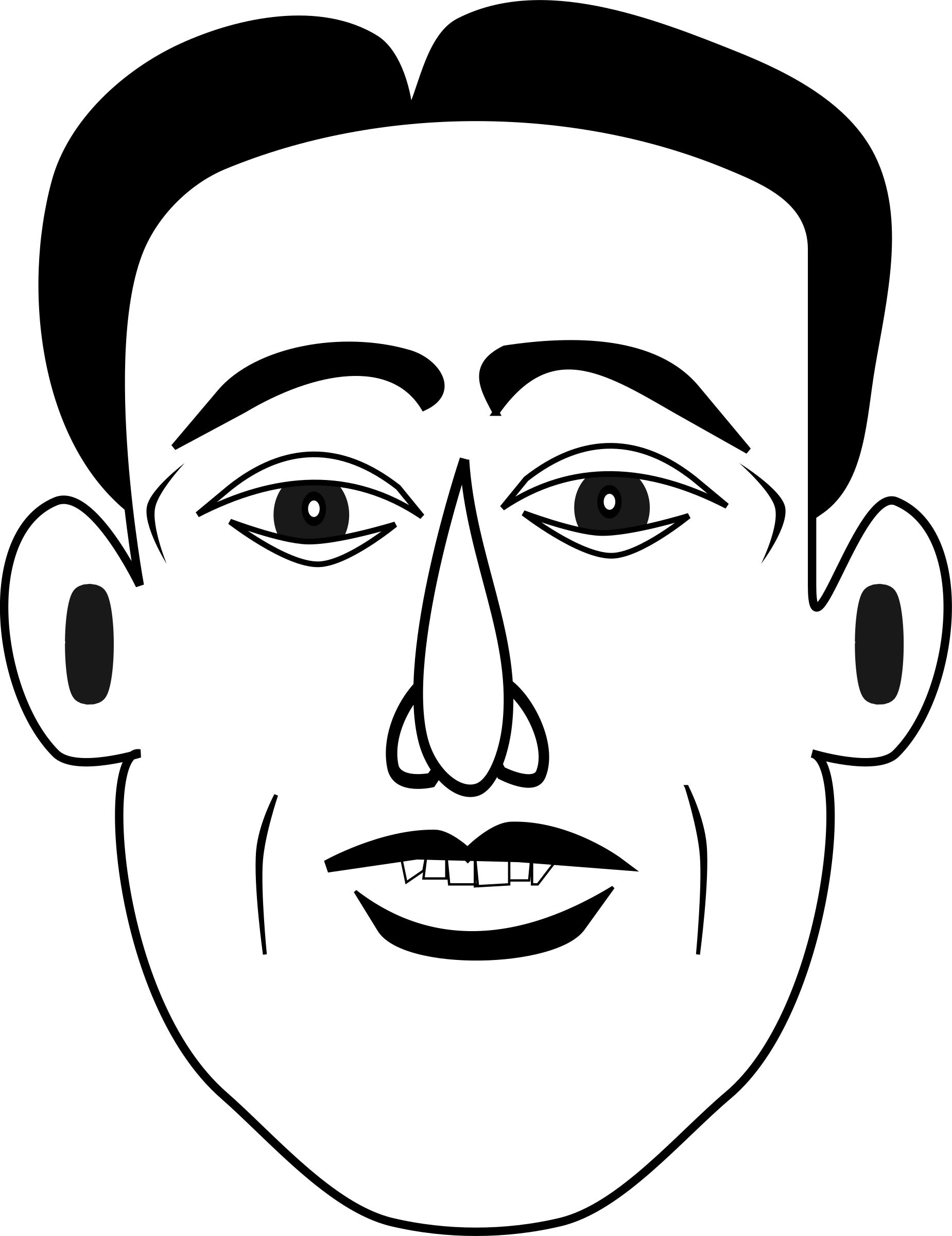 picture royalty free library Emotion drawing. Clipart happy big image