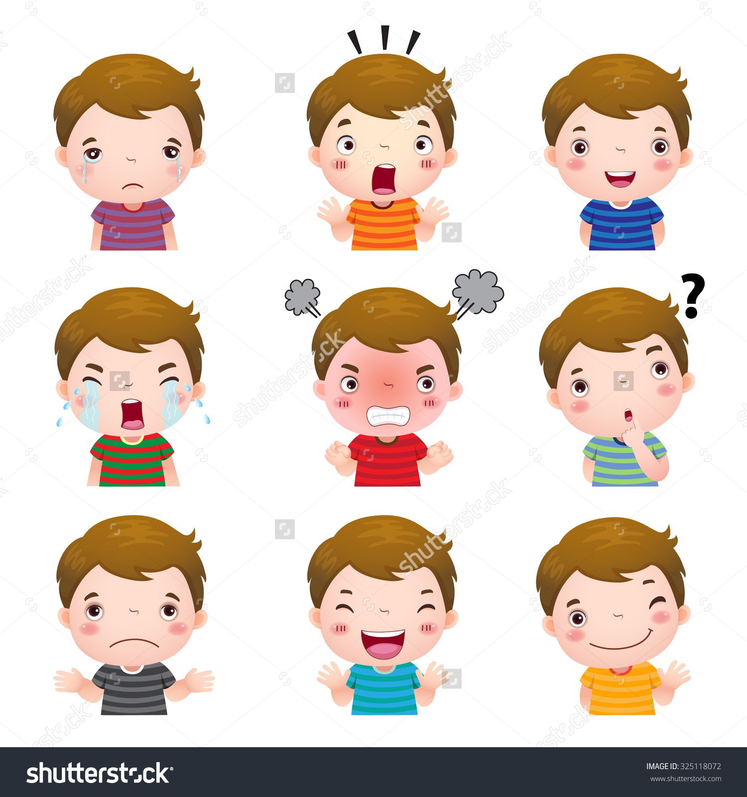 image free Google search teaching resources. Emotions clipart.