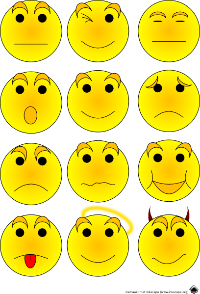 vector royalty free stock Free . Emotions clipart.