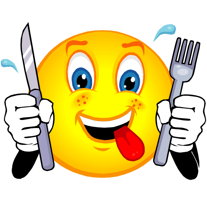 clip art royalty free download Thirsty Smiley Face Hungry Smiley Face
