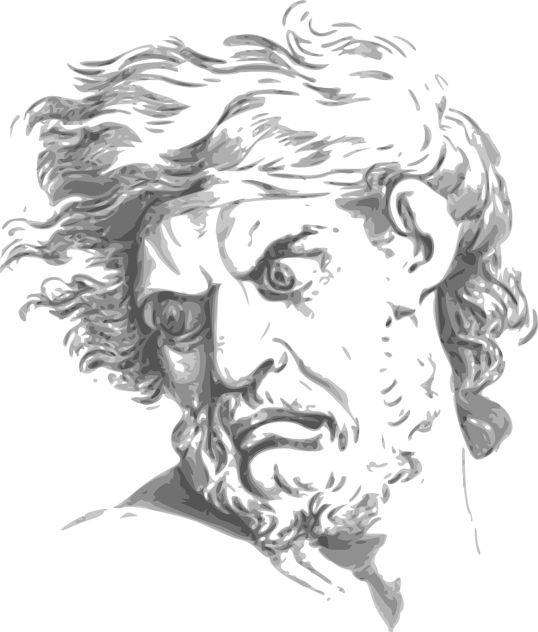 jpg freeuse download Drawing god sketch. Is not an angry