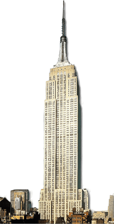 image royalty free library Empire state png stickpng. Building transparent
