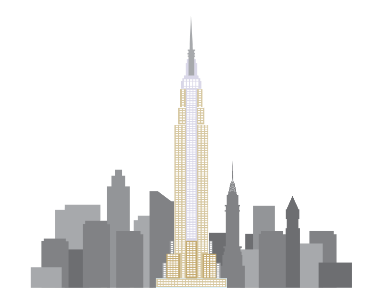 clip royalty free Empire State Building Clipart transparent PNG