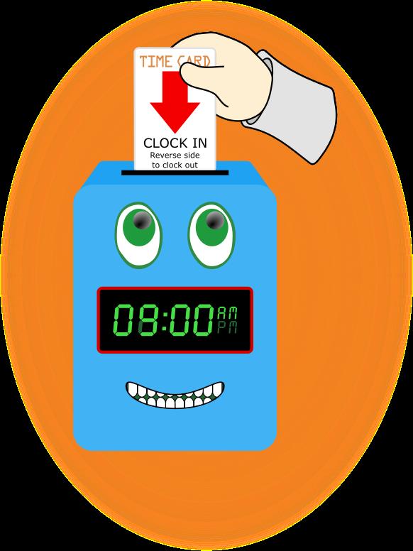 jpg Free Payroll Time Clock Clipart