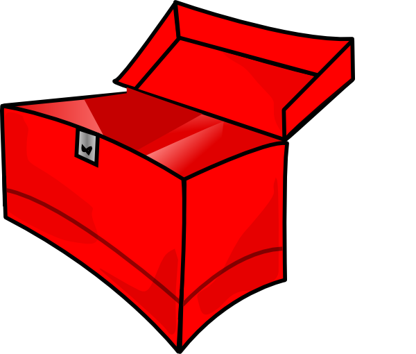 jpg royalty free stock Red Toolbox Empty Clip Art at Clker