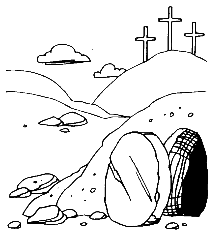 jpg free library Empty tomb clipart. Related image easter pinterest
