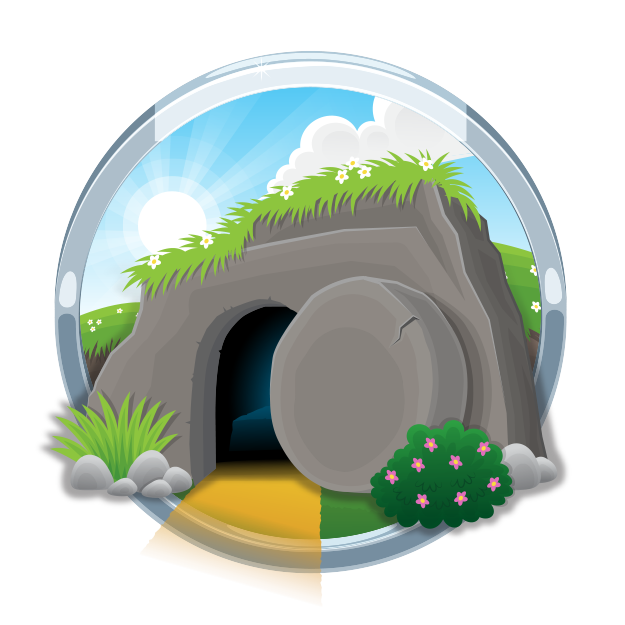 jpg royalty free download The bible app for. Empty tomb clipart
