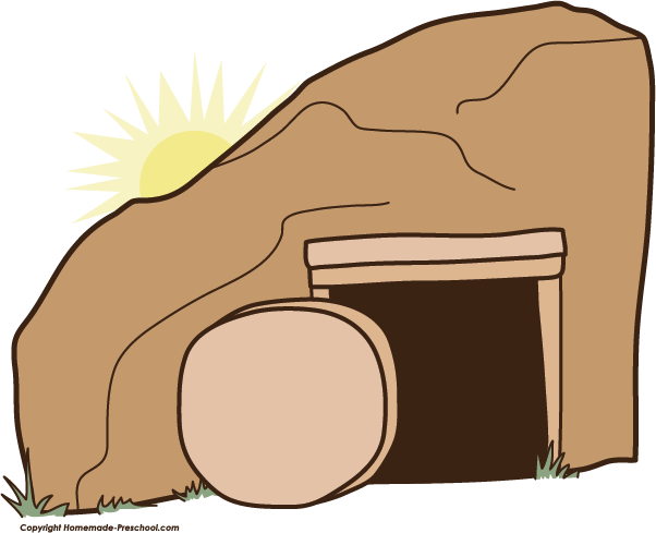 image freeuse Easter . Empty tomb clipart