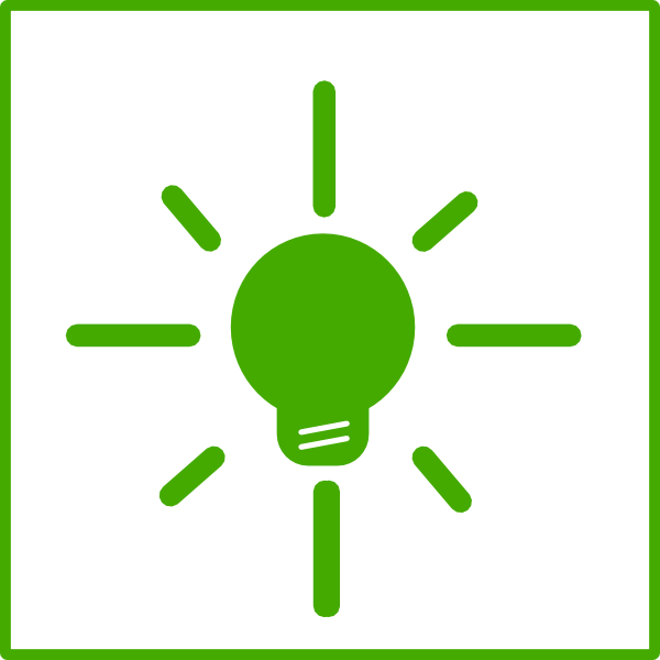 graphic freeuse stock Green Light Bulb Energy Icon Clip Art at Clker