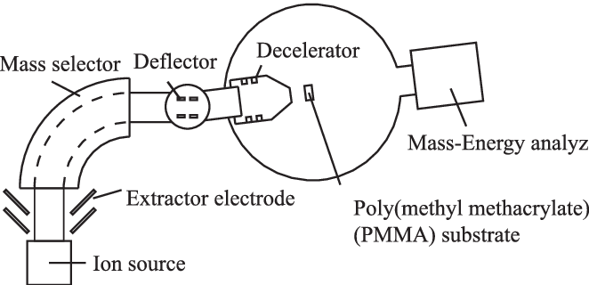 vector free A schematic drawing of the low