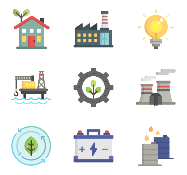 picture black and white download Energy Icons