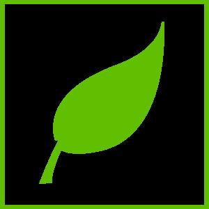 svg Green Leaf Clip Art at Clker