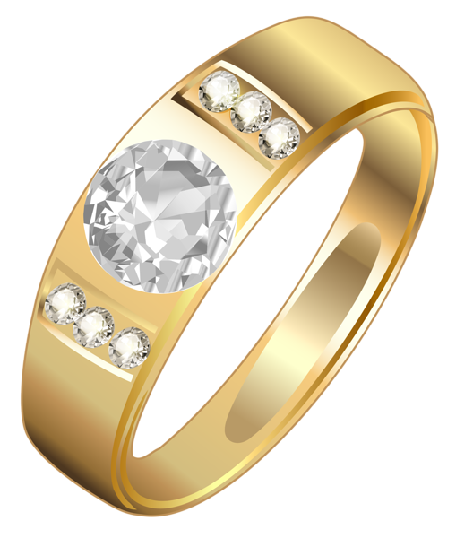 picture transparent stock Golden ring png wedding. Gold rings clipart